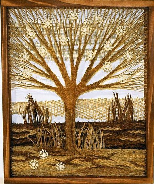 Stromček - jar kvetinková
