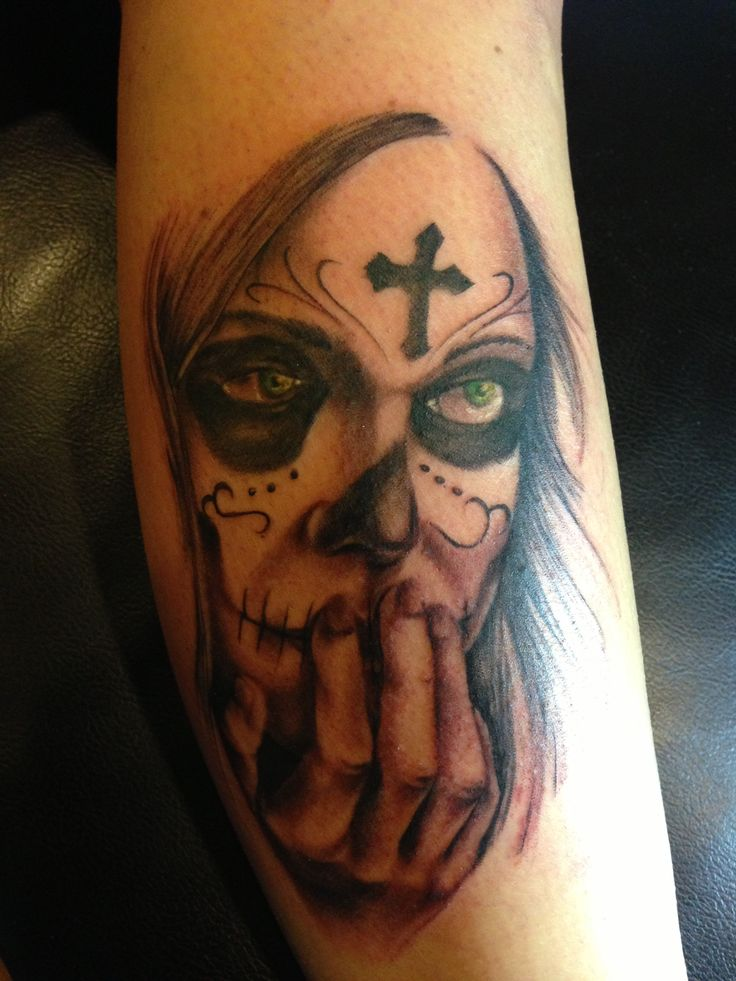 Day of the dead girl. One of the best tattoo artists anywhere.
