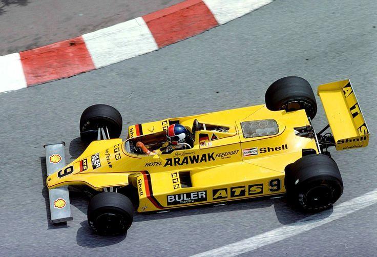 1980 GP Monaco (Jan Lammers) ATS D4 - Ford