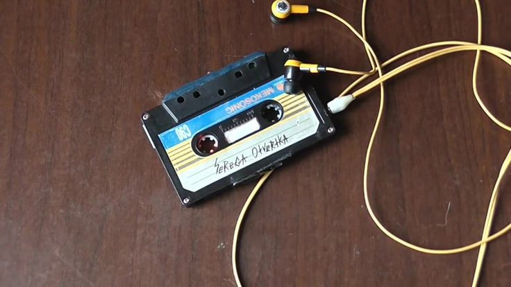 MP3 плеер из аудиокассеты