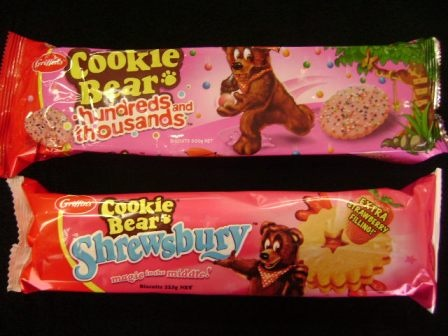 Cookie Bear 100\'s & 1000\'s and Shrewsbury
