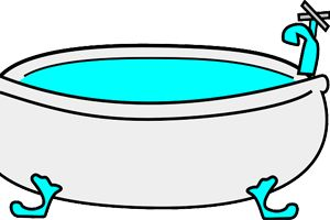 Bañera limpia con vinagre y bicarbonato - Trucos de hogar caseros