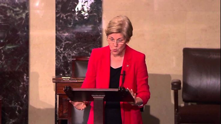 Senator Elizabeth Warren: I stand with Planned Parenthood. She delivers a speech about the Republican vote to defund Planned Parenthood