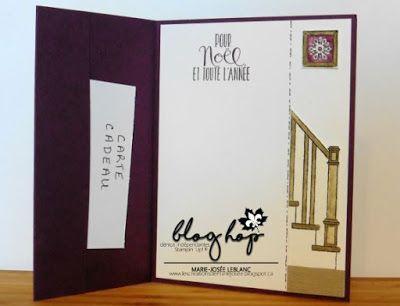 Les créations de Marie-Josée: Blog Hop de décembre Noël non traditionnel #scrapbooking #readyforchristmas #cards