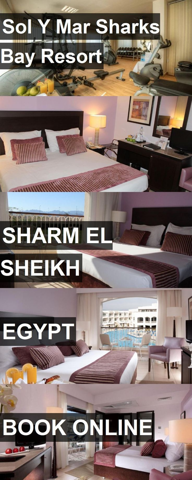 Hotel Sol Y Mar Sharks Bay Resort in Sharm el Sheikh, Egypt. For more information, photos, reviews and best prices please follow the link. #Egypt #SharmelSheikh #travel #vacation #hotel