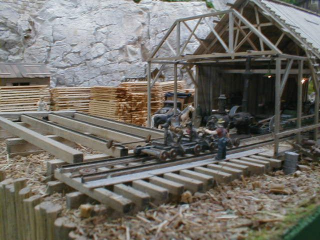 """model railroad sawmills 