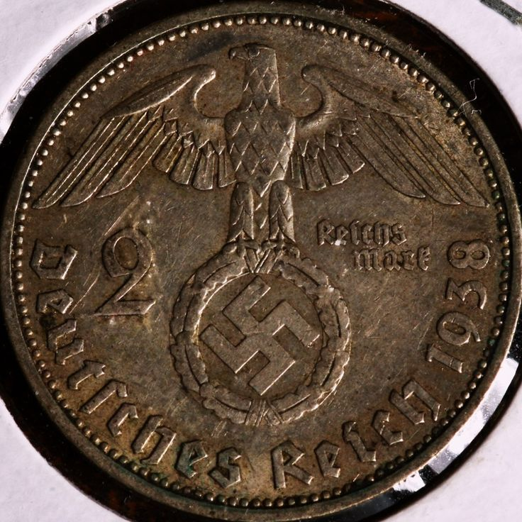1938 German Nazi Coin