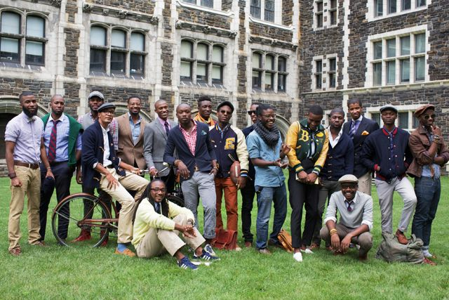 Classic black Ivy style via Street EtiquettePreppy Style, Street Etiquette, Black Ivy, Men Style, Men Fashion, Streetetiquette, African Style, Ivy League, Ivy Style