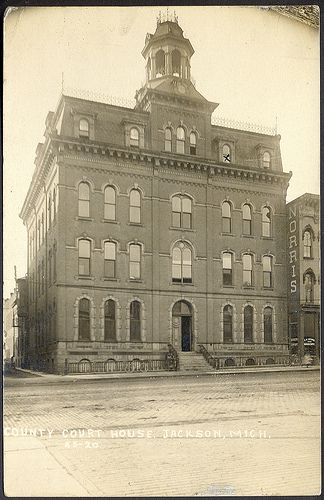 All Sizes Jackson Mi Grand Old County Court House Card Cs Stone Bakrey And Norris