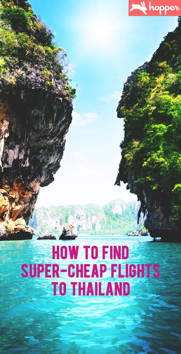 How to Find Super-Cheap Flights to Thailand. #travel