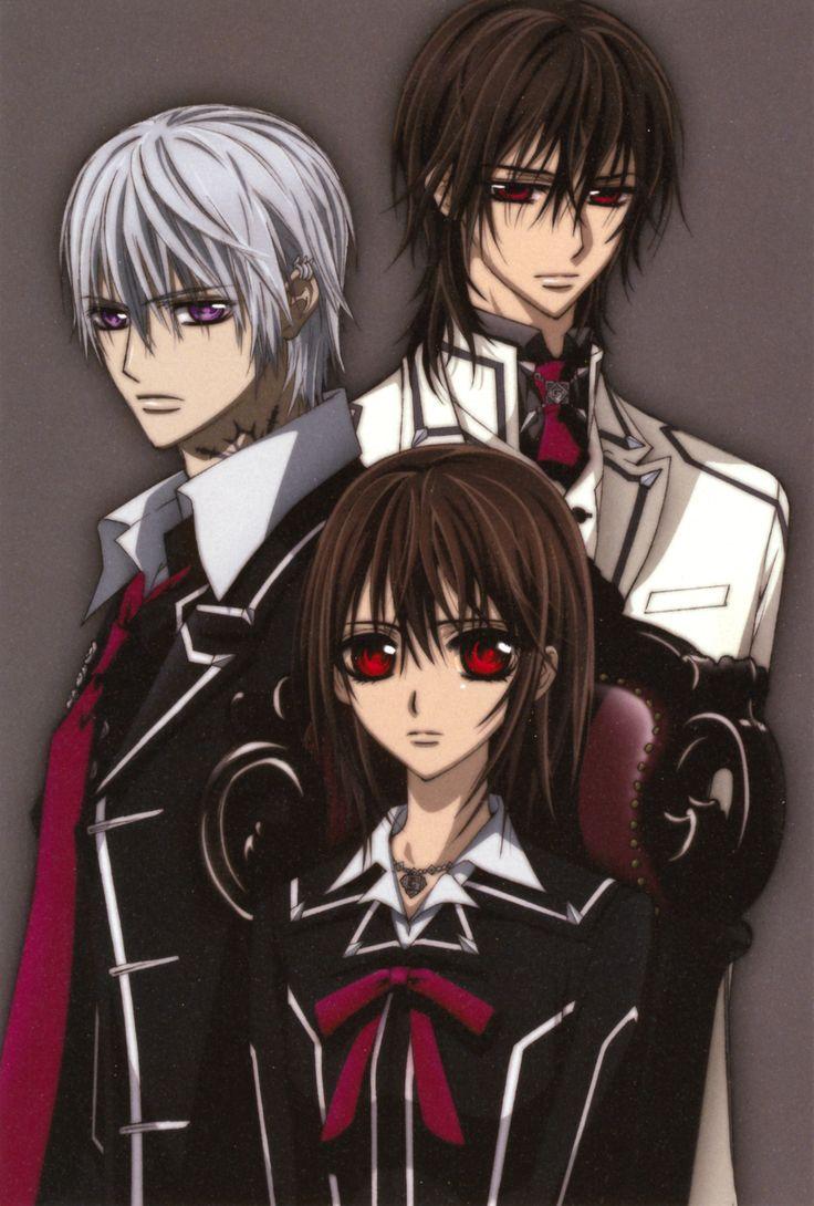 Kaname, Yuki and Zero, Vampire Knight Vampire knight