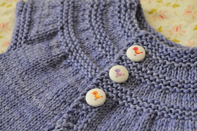 Knitting A Sweater Without A Pattern : Close up of knitted baby sweater soulemama the pattern