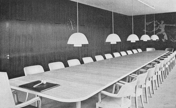 Ahlbom & Sterner: Halmstads rådhus – Drätselkammarens sessionssal