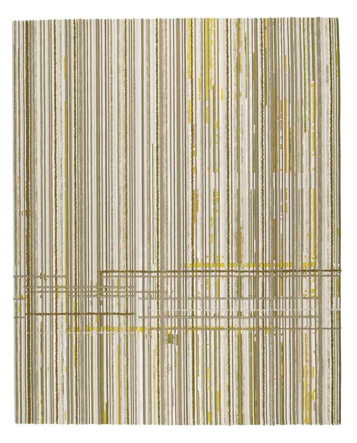 Line Dance I, Scenematic Collection by Andre Fu for Tai Ping #AndreFu #AndreFuLiving #AFL #Architect #Lifestyle #Asian #Modern #Interior #Lines #CrossingLines #Stripes #Graphic #Yellow #Beige #SensoryDusk #Luxury #Rug #Carpet #Tapis #Design #InteriorDesign #Deco #Art #Bespoke #Custom #Unique #HandTuft #HandMade #HandCrafted #Artisans #RugsCreatedByUs #TaiPing #HouseOfTaiPing