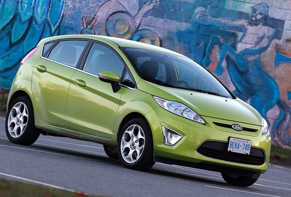 Ford Fiesta Hatchback 2012  Color: Lime Squeeze