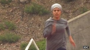 Sarah Attar -  1 of 2 Saudi women to be in 2012 Olympics for the first time in history