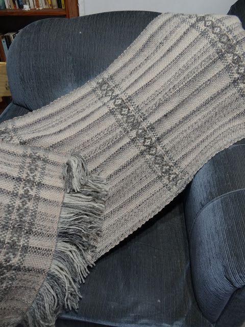 Tejidos del Campo: Blanket o Chalon, en 8 lisos.