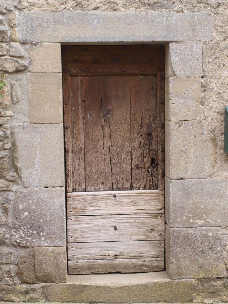 Porte de bois - Camon