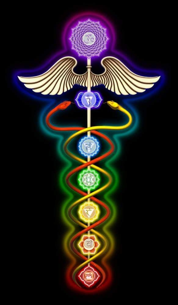 The Caduceus Is A Symbol For Good Health And Vitality All Though It