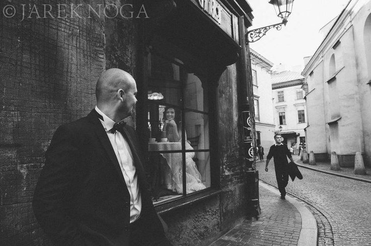 Somewhere in Cracow (Poland). Our fabulous Bride Monika in Justin Alexander wedding dress style no. 8530.