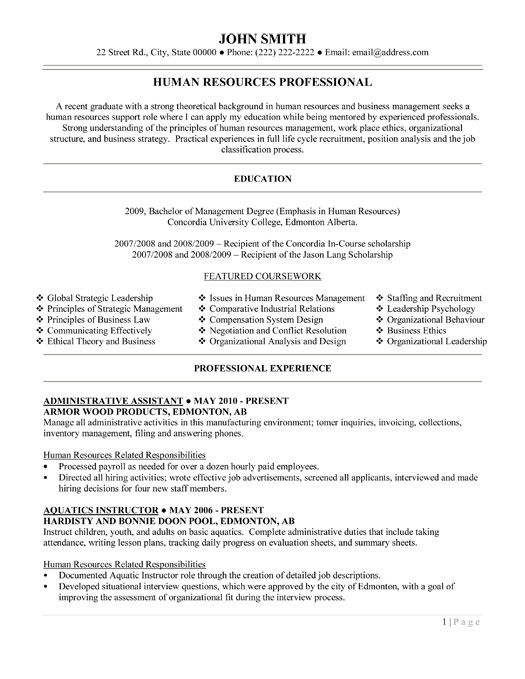 Resume template for administrative assistant grand picture