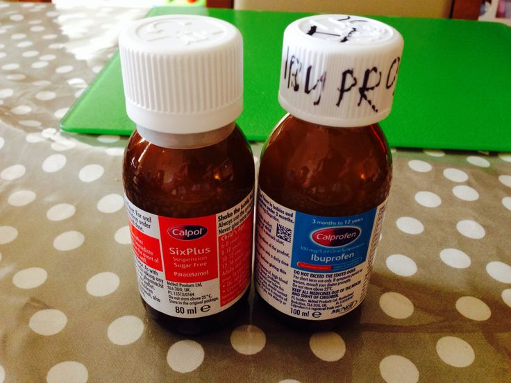 I think the Calpol branded bottles of pain relief look too similar. The ibuprofen bottle looks very similar to the paracetamol bottle, especially the infant one. This is the 6+ which I've labelled. Do I think a tired parent in the middle of the night in, in semi light,  might give them wrong dosage? Yes. I'm labelling this a product fail. Would you?