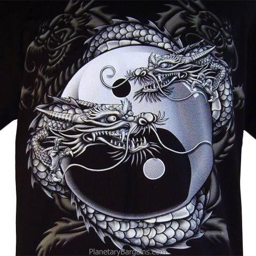 Dragon Yin Yang Yakuza Shirt