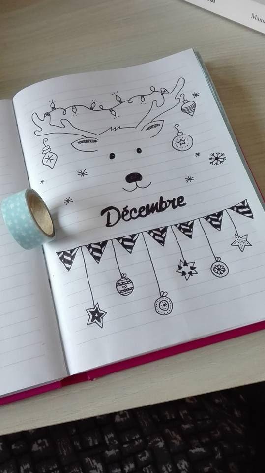 Thème Noël bullet journal