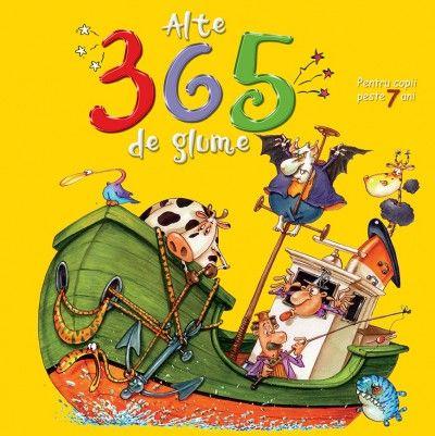 Alte 365 de glume pentru copii peste 7 ani