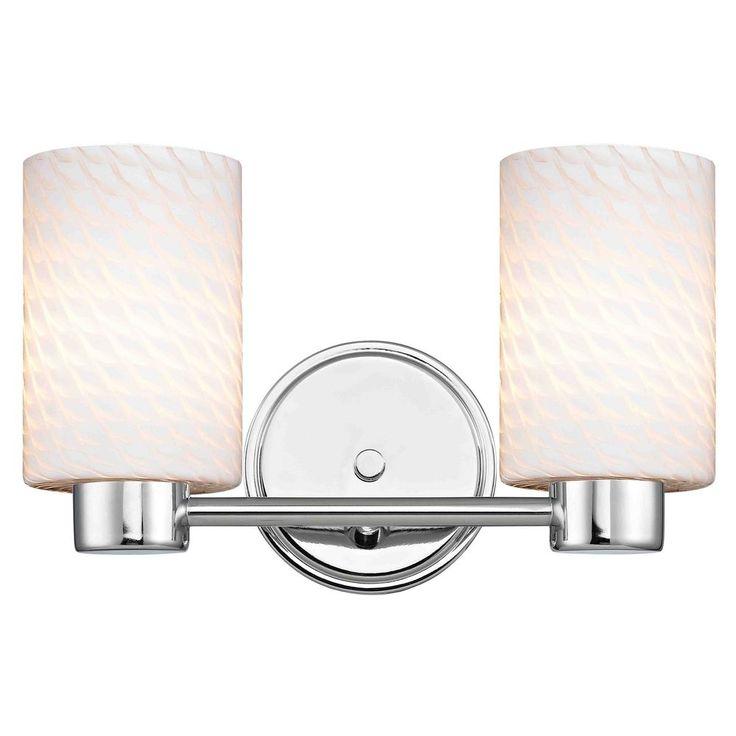 Design Classics Lighting Design Classics Aon Fuse Chrome Bathroom Light 1802-26 GL1020C