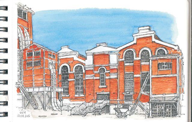 Urban Sketchers Portugal: Museu da Electricidade