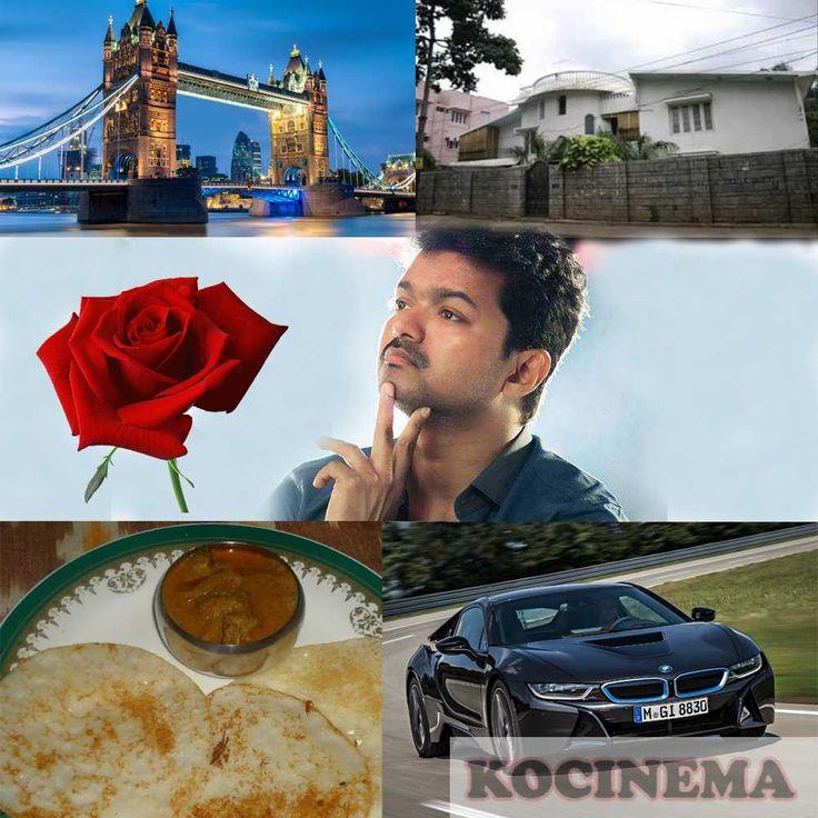 Actor Vijay's all Favorates: Actor Vijay favorates and interests are there Vijay's Full Name : Joseph Vijay Vijay's Pet Name : Ilayathalapathy Vijay's Profession : Actor, singer Vijay's Date of bir...