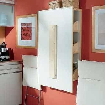 Компактная мебель для маленькой кухни