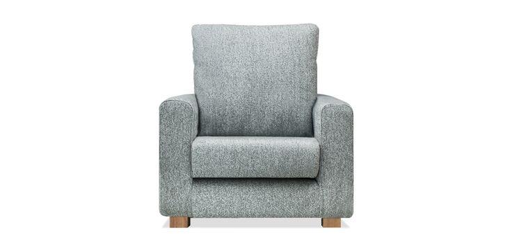座り心地の良いソファー | SARAH 1人掛け FRONT