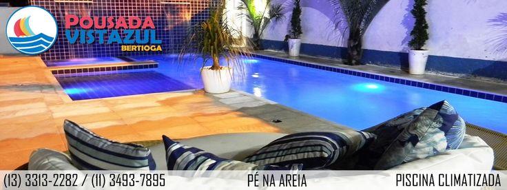 Pousada Vistazul - Pé na Areia, com piscina aquecida