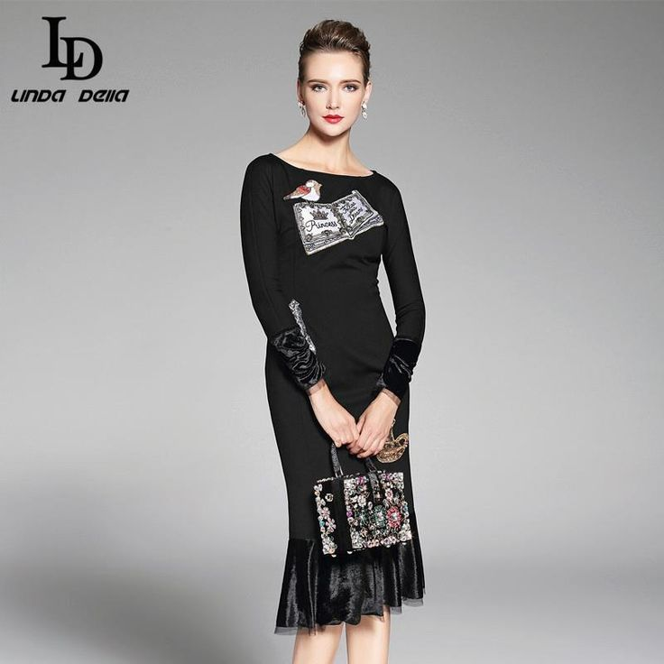 Elegant Women Maxi Dress Long Sleeve Printing Lace Patchwork Party Dresses Autumn Like and share! www.storeglum.com... #shop #beauty #Woman's fashion #Products