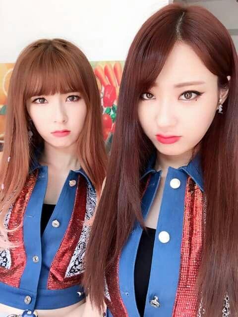 Hyemi and Kyungri
