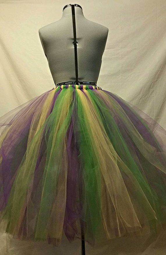 Mardi Gras Tutu Bustle by BBsBoutiqueShop on Etsy | Voodoo Mardi Gras Party Theme | Murder Mystery Games | www.bepartofthemystery.com | https://www.etsy.com/shop/MurderMystery101