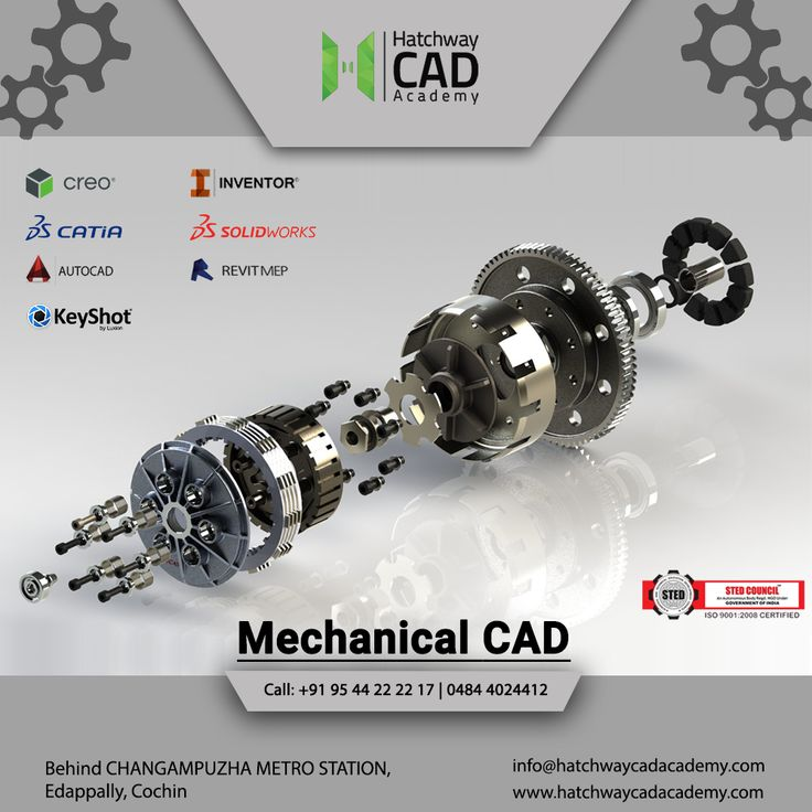 Students pursuing diploma and degree programmes in Mechanical Engineering can enroll in this Mechanical CAD Course. With CAD skills, mechanical engineers can find employment and increase productivity. Visit : www.hatchwaycadacademy.com #mechanicalcadcoursesinKochi #mechanicalcadcoursesinErnakulam #mechanicalcadcoursesinkerala  #Autocadcoachinginkochi #Autocadcoachinginkerala #bestautocadtraininginstitutesinernakulam #cadsoftwaresinkerala #CadcentresinKerala #Hatchwayarchitectsanddevelopers