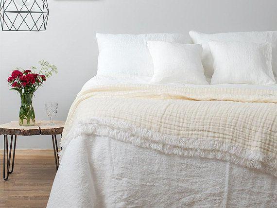Off White Linen Duvet Cover Soft Flax Linen Bedding Single Etsy Linen Duvet Covers White Linen Duvet Covers Bed Linen Sets