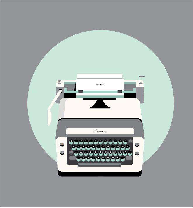 Love typewriters!!
