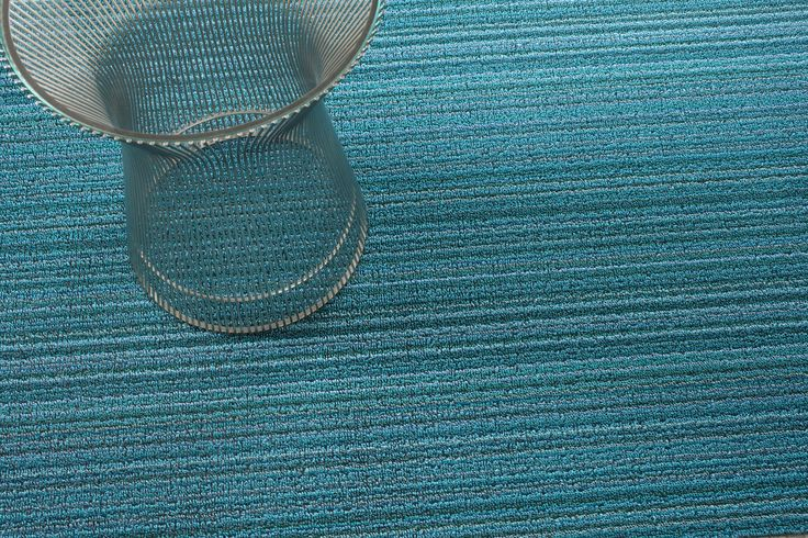 Skinny Stripe Shag Doormat