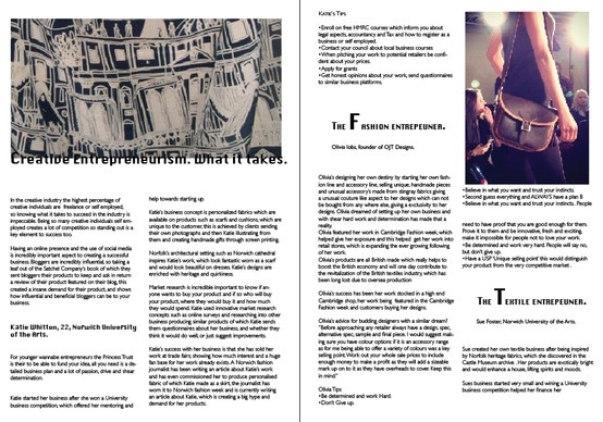 My business article layout. Please can you give me feedback for improvement.  Thank you.