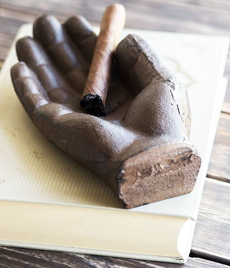 Cast-Iron Hand Cigar Ashtray Get it now from: http://ashtrayparadise.siterubix.com/iron-hand-cigar-ashtray