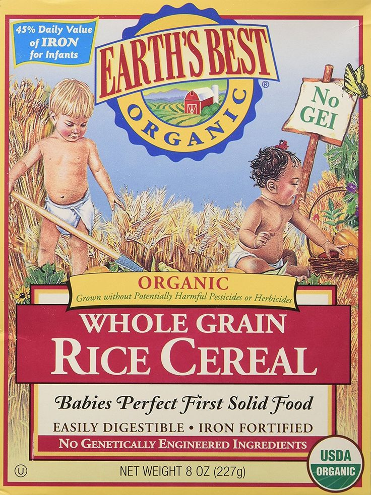 Earths Best Organic Infant Rice Cereal 8 Ounce >>> More info could be found at the image url.