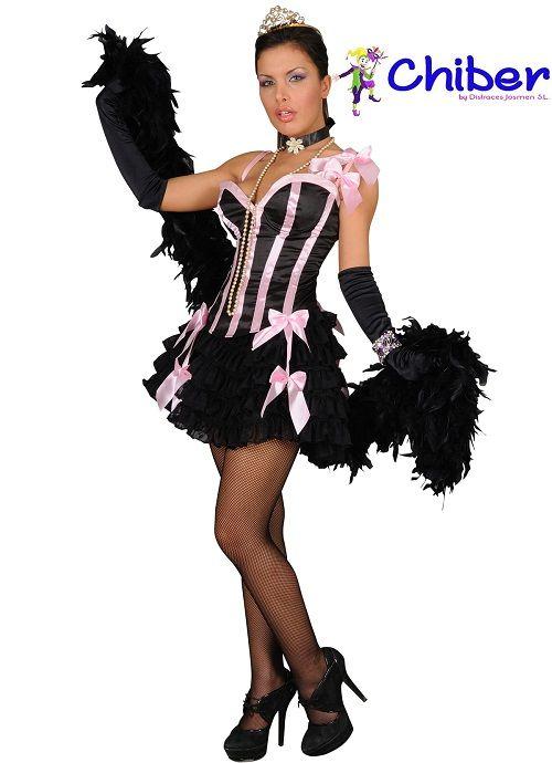 Disfraz Moulin Rouge: El cabaret más famoso del mundo, cuna del famoso can-can francés e icono de París, el Moulin Rouge, fue creado en 1889 en la zona de Montmartre de París.