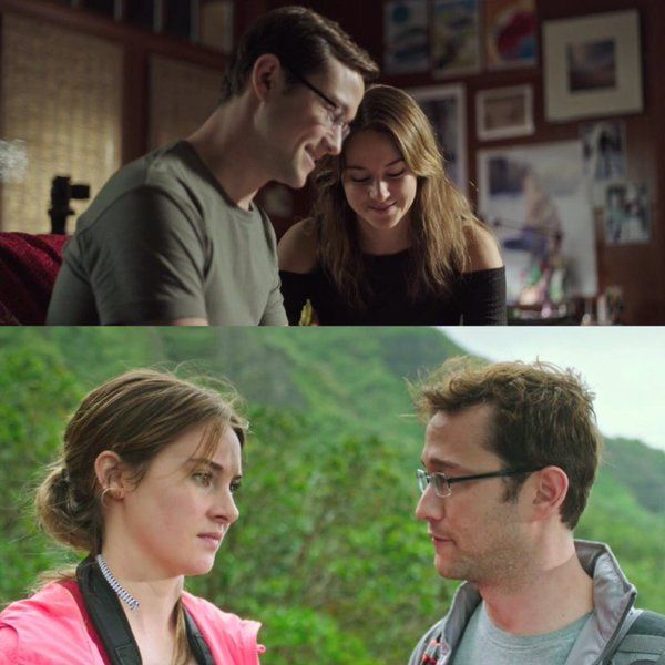 Joseph Gordon-Levitt and Shailene Woodley.  What a great onscreen couple!
