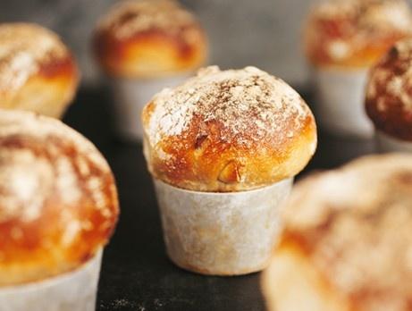 Cashew- och fetaost bröd