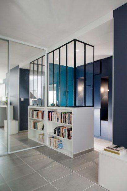 hall d entr e r alis par marion lanoe verri re pinterest entr e verri re et cuisine avec. Black Bedroom Furniture Sets. Home Design Ideas