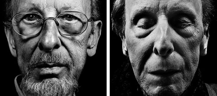 Des portraits poignants de personnes malades avant et après leur mort